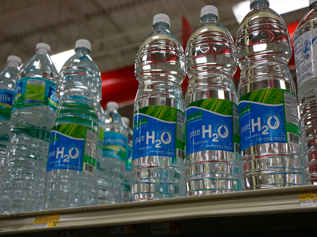 The Cost of Bottled Water is filtered water the same as distilled water