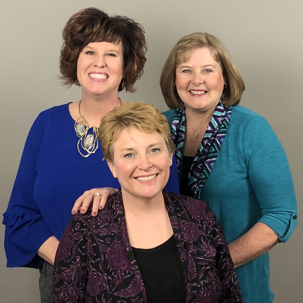 Group image of Ginger Jones, Tracy Book, and Deana Hall