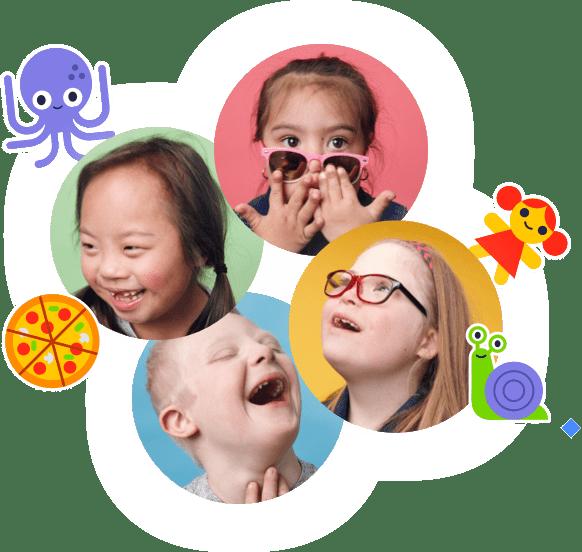 happy kids portraits