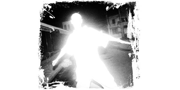 man light silhouette