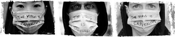 capitalism virus mask
