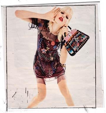 high fashion girl