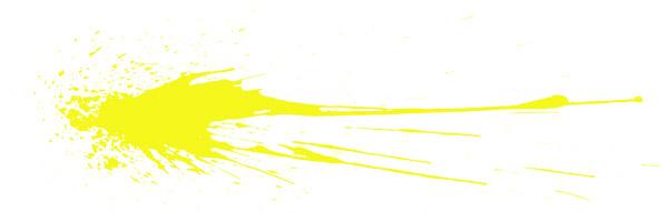 yellow splatter