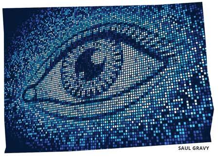 pixel numbers eye image