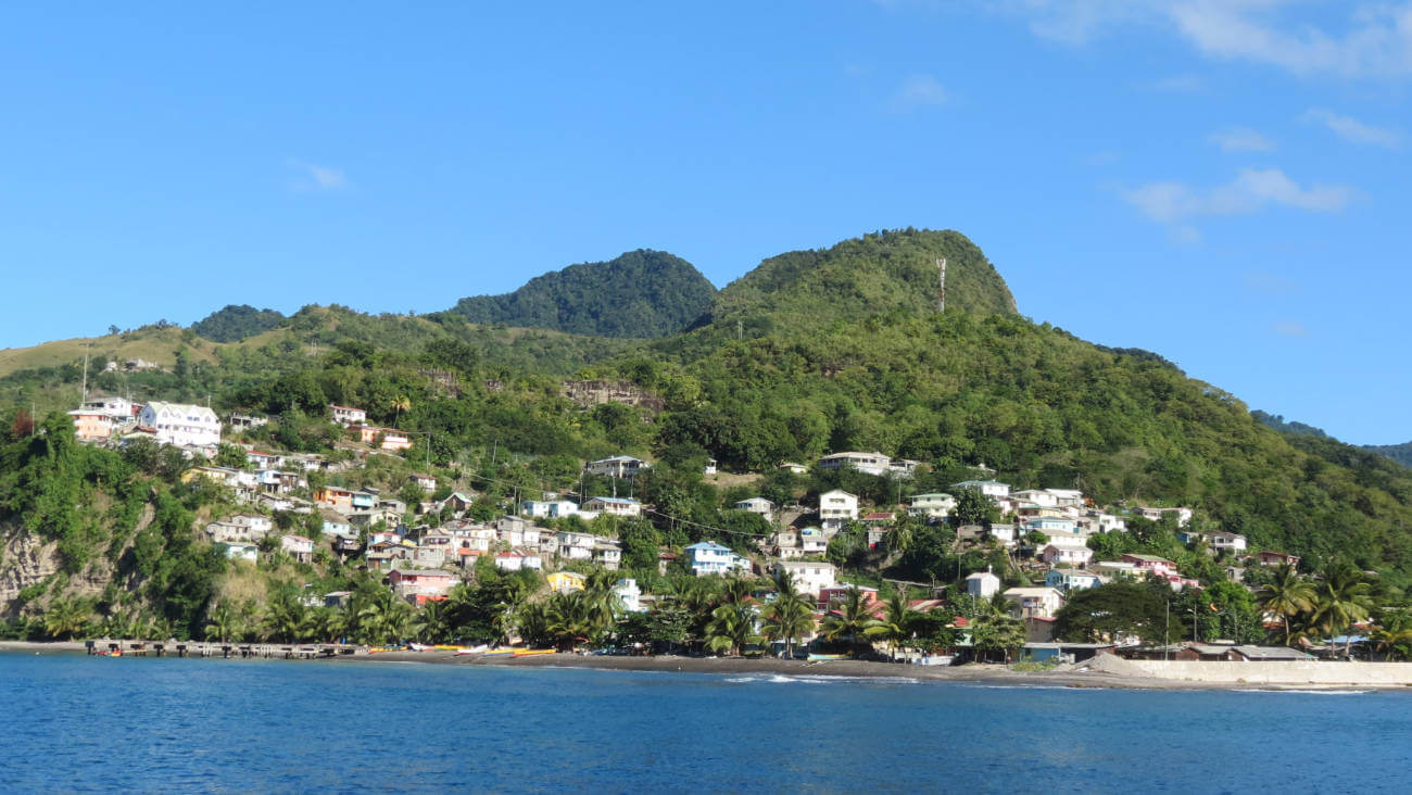 Saint Lucia Towns and Village locations
