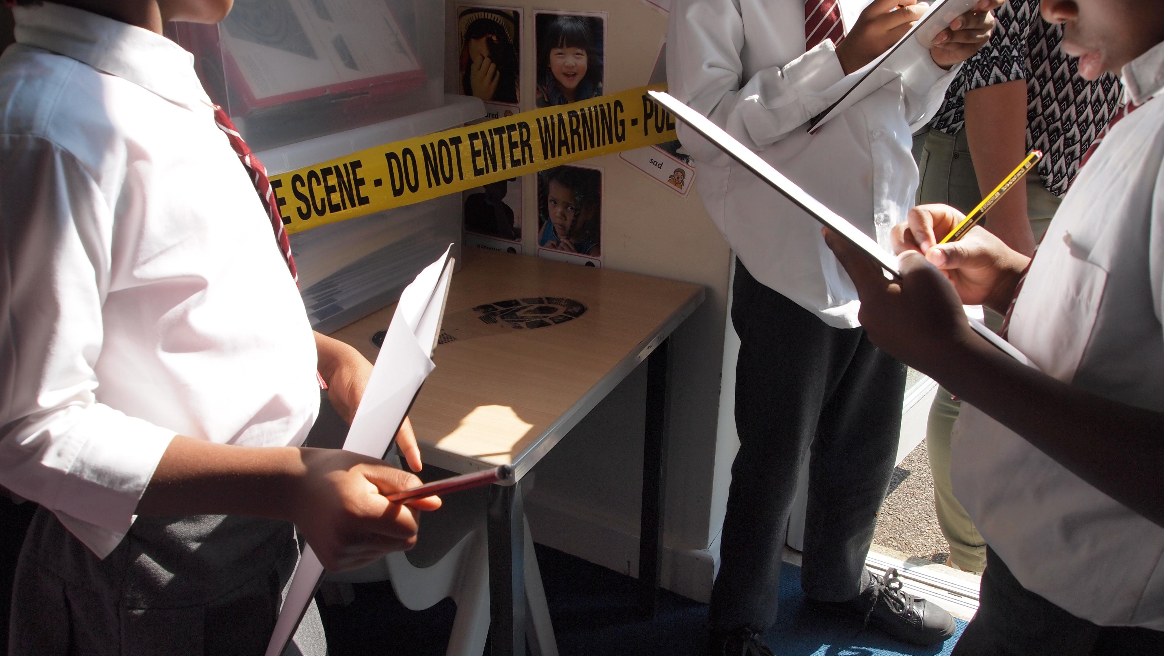 Teamwork on Crime Scene Investigation at St Francis de Sales