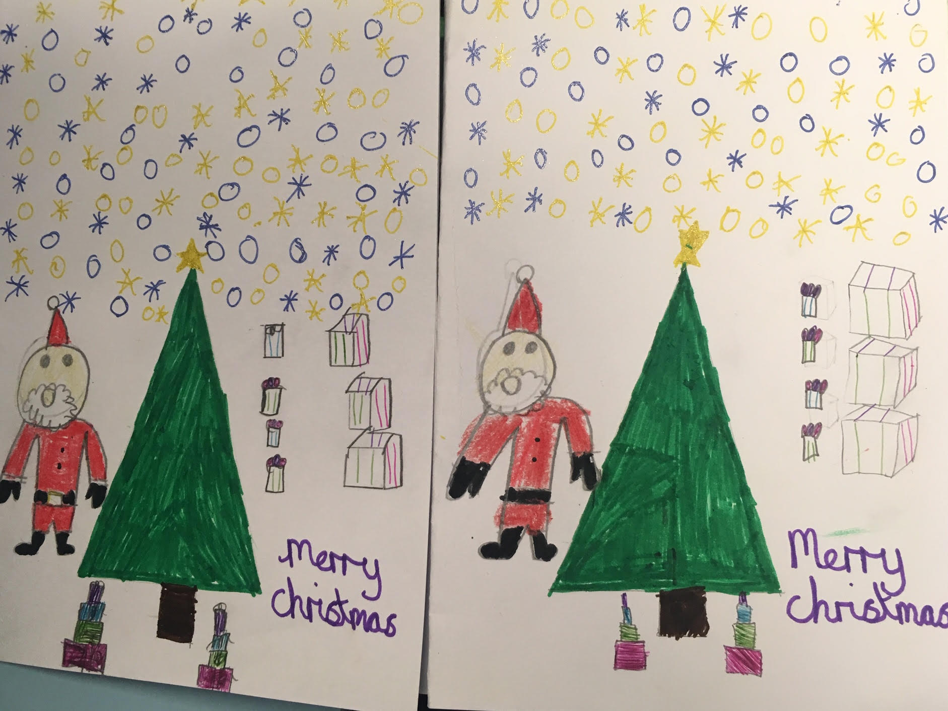 Great cards at St Catherine's RC School