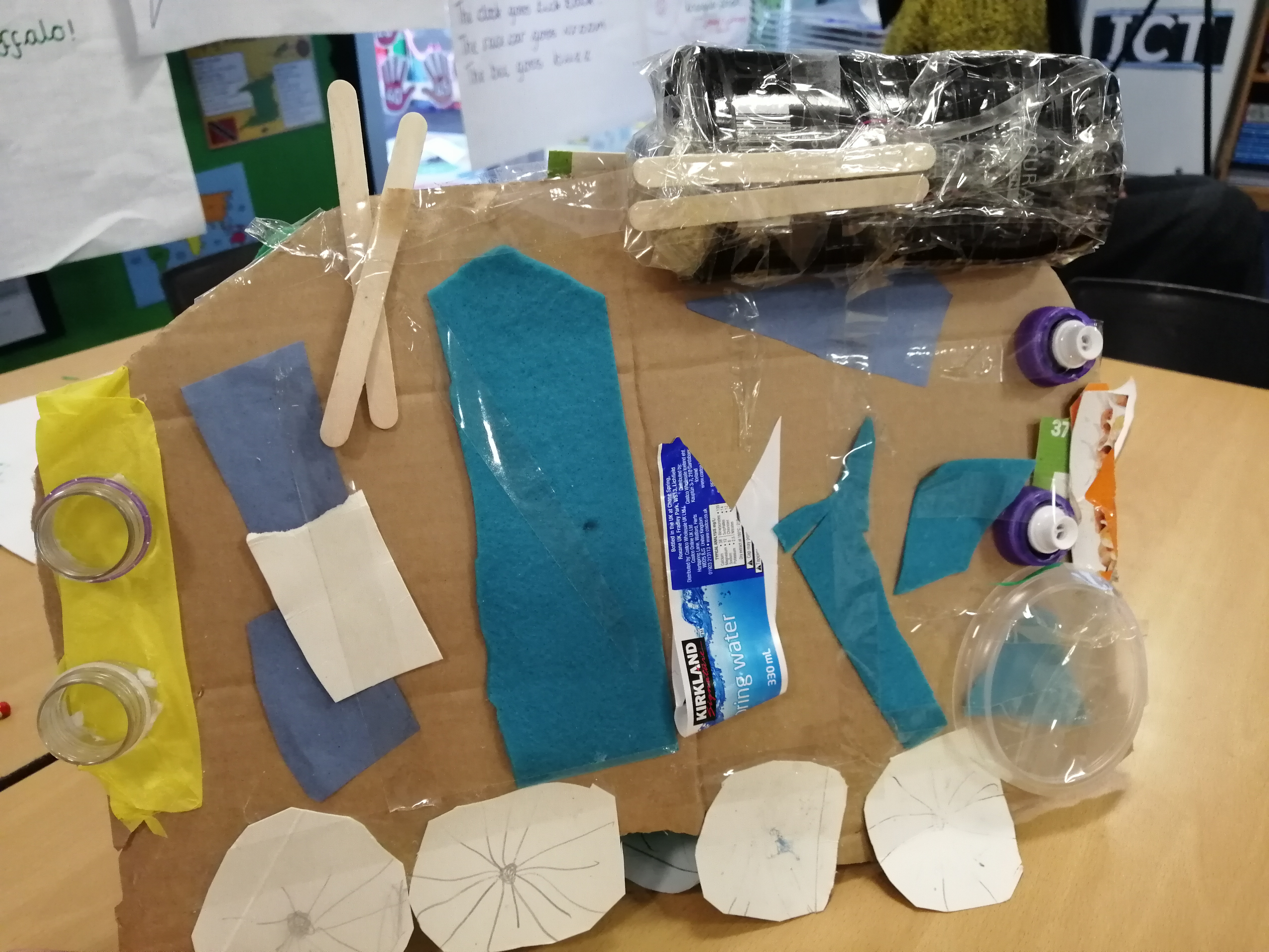 Creativity, problem solving and teamwork in Year 1's Future Transport model