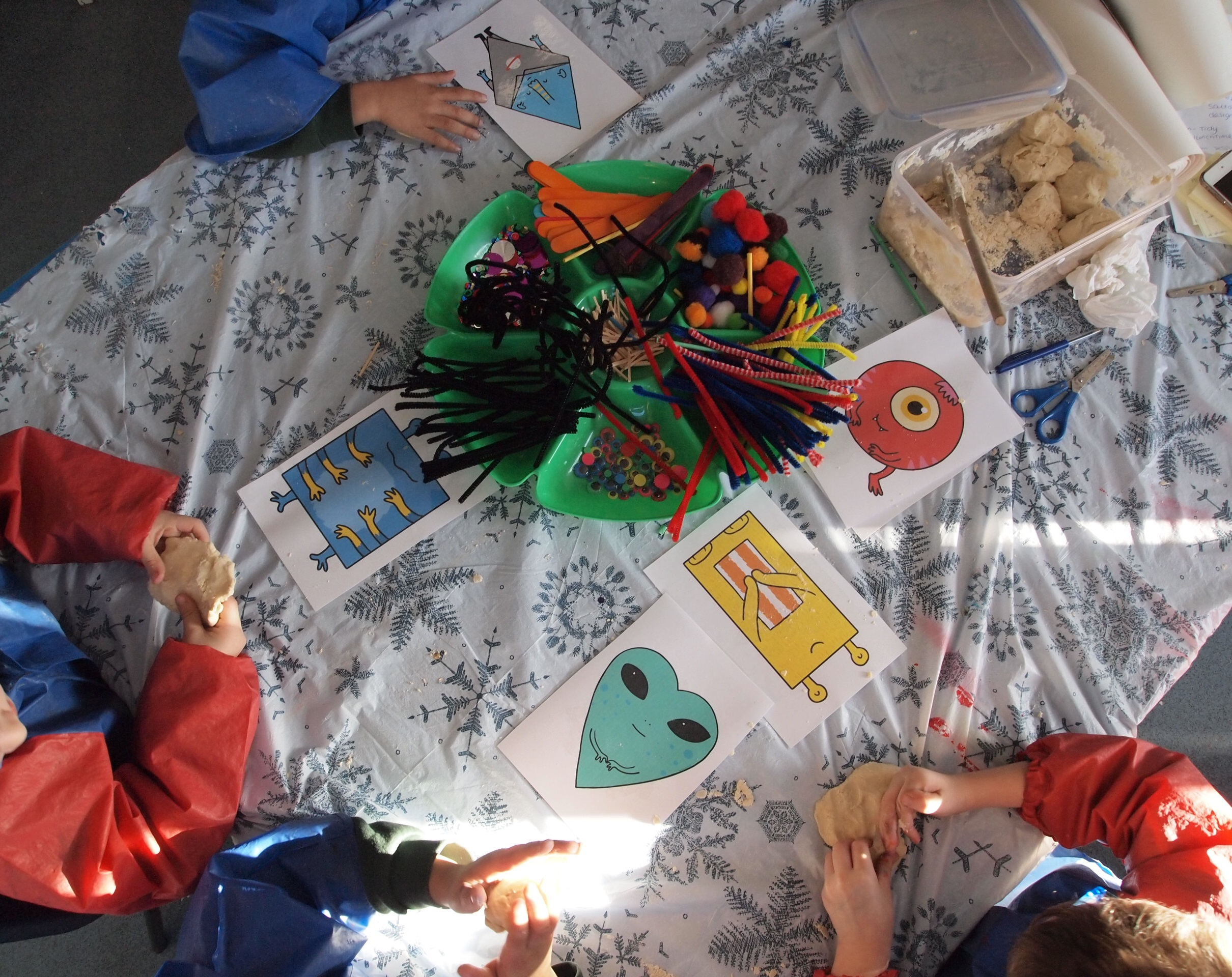 Creativity in action in Reception at Leagrave in Luton