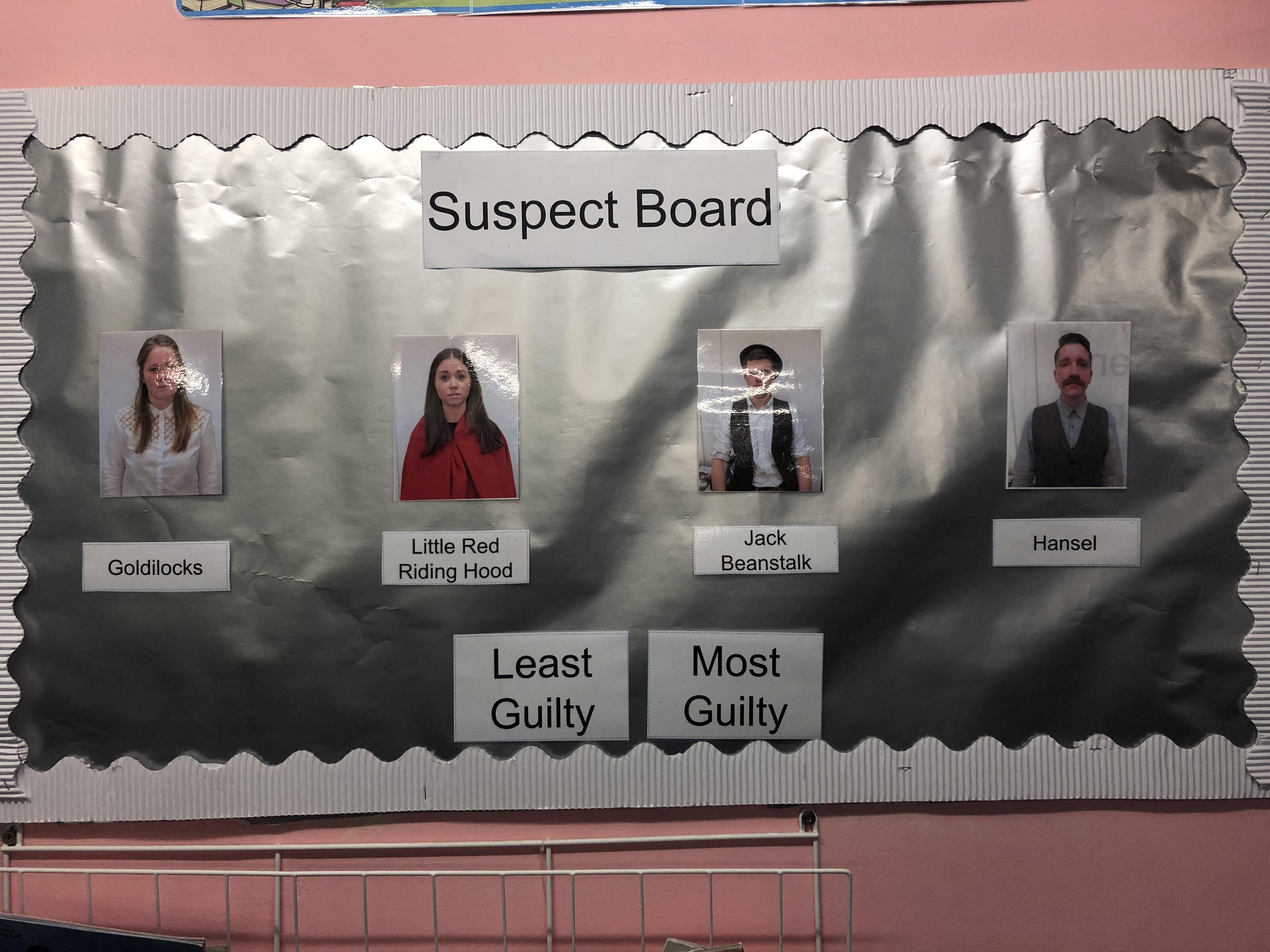 Suspect Board