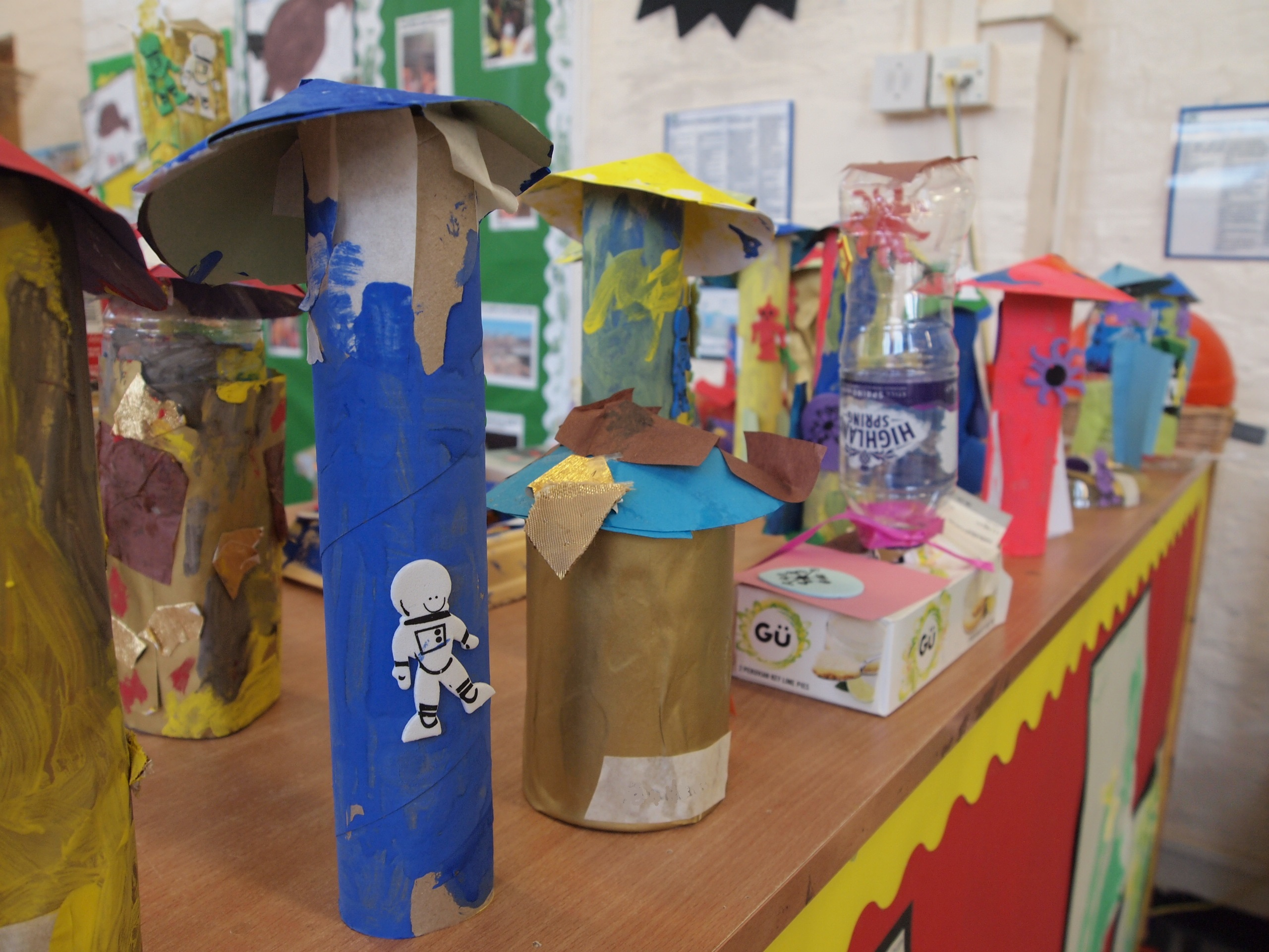Stunning Creativity in Nursery on Operation Moonbase at Carlton Primary, Kentish Town West