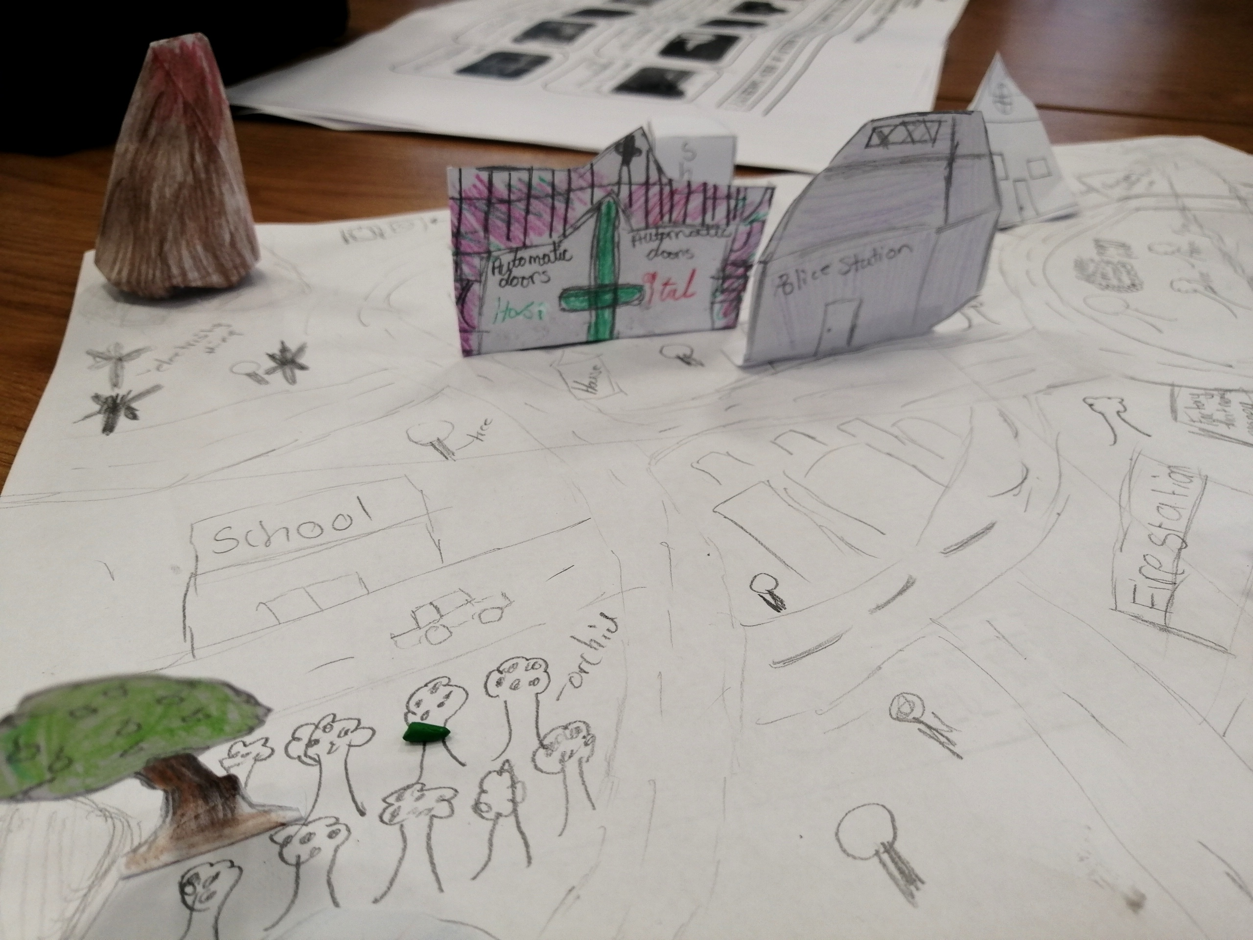 Students show their Staying Positive skills as they take on the challenge of making their model cities 3D!