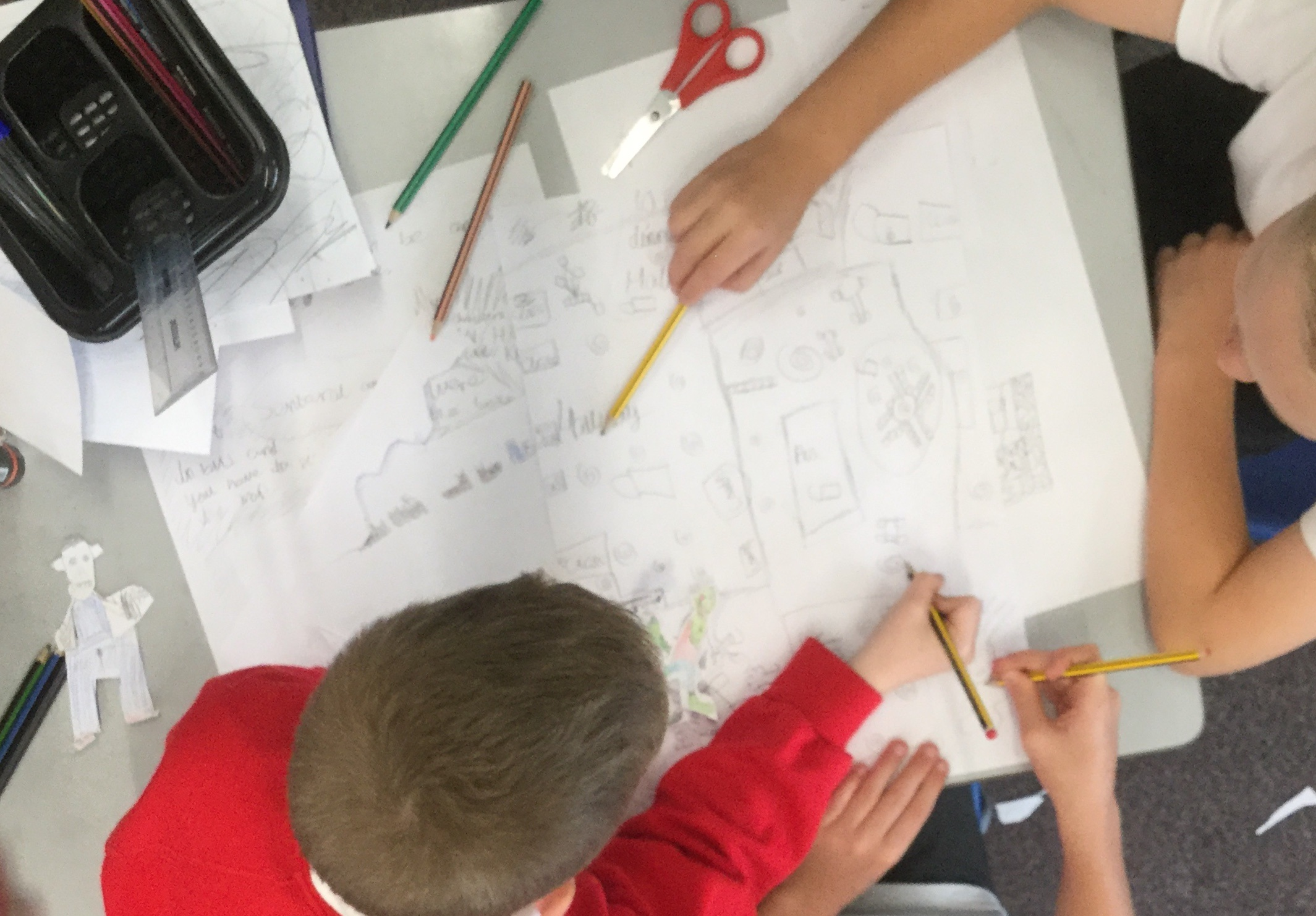 Terrific teamwork in all classes