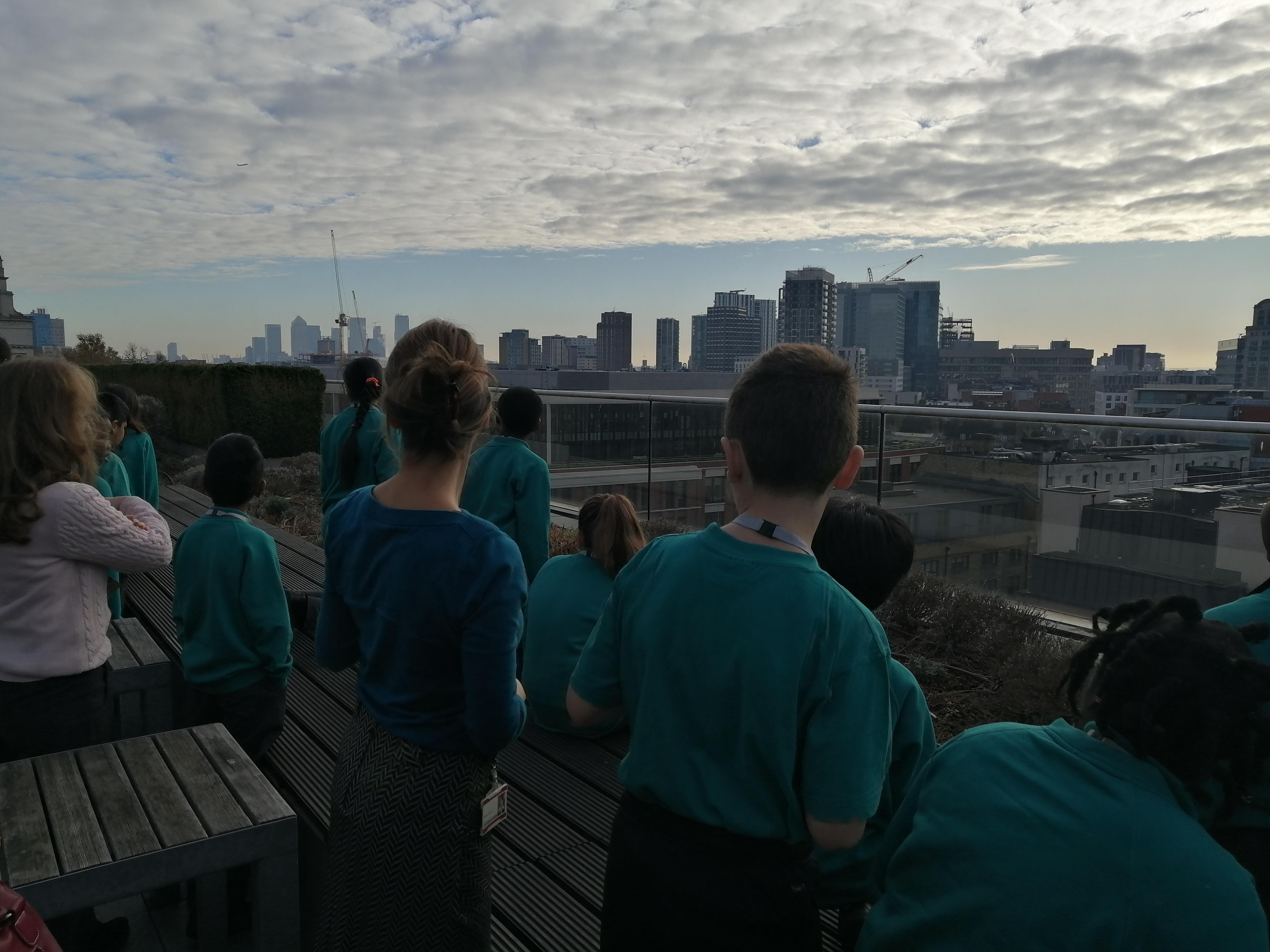 Children exploring the wider world of work.