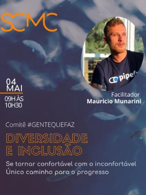 #GENTEQUEFAZ COM MAURICIO MUNARINI