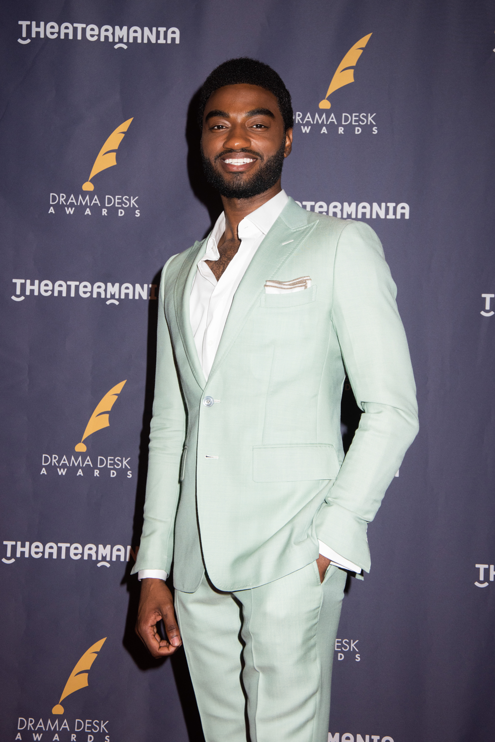 Jelani Alladin at the 63rd Annual Drama Desk Awards