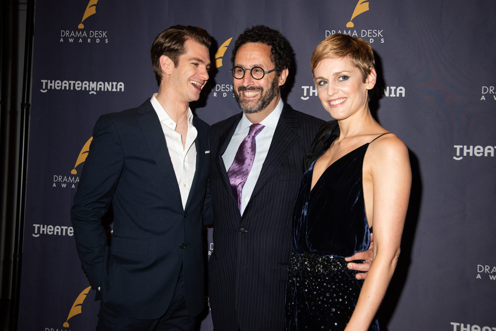 Andrew Garfield, Tony Kushner, Denise Gough