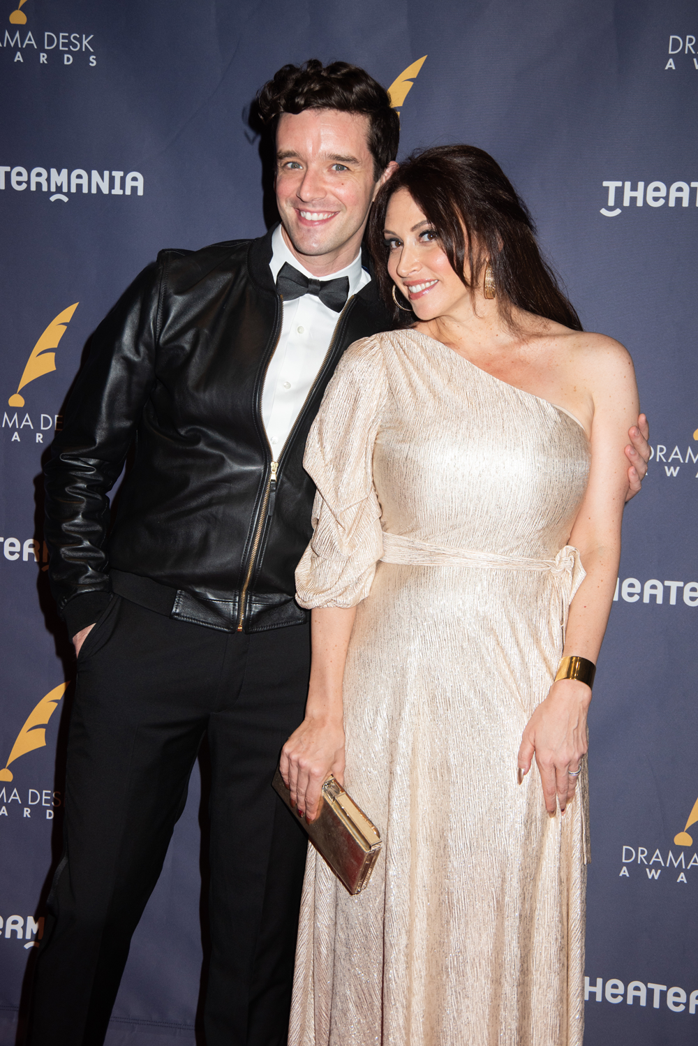 Michael Urie and Leslie Margherita