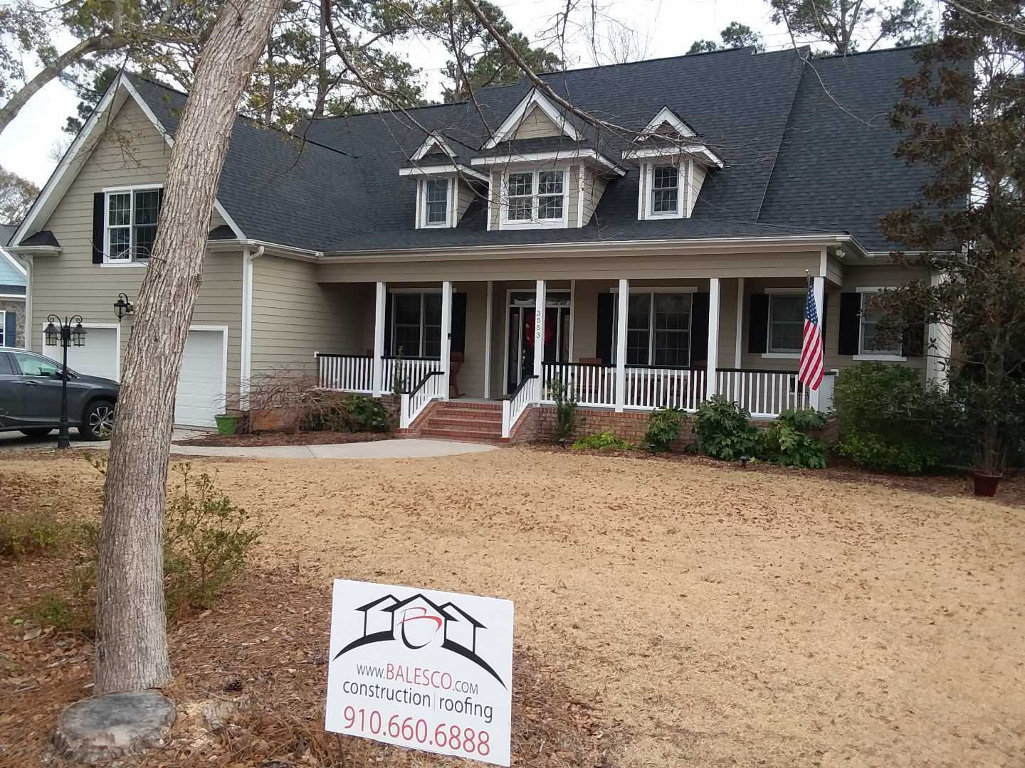 Bales Roofing Shingle Project Wilmington NC