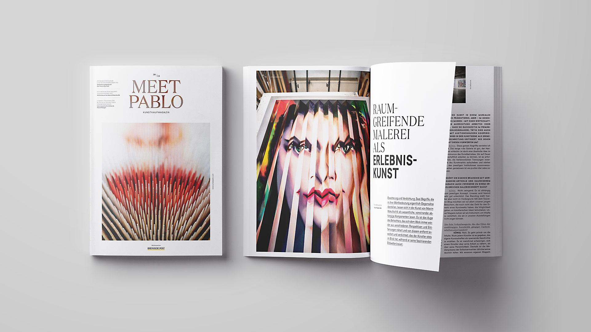 Meet Pablo Magazin (schiebezimmer)