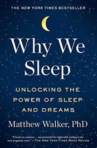 Why we sleep book cover shleep recommendations