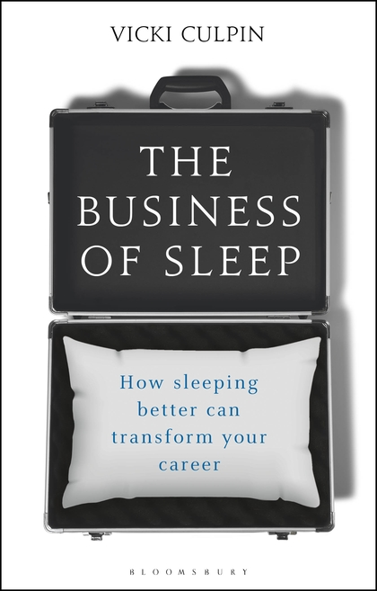 The business of sleep book cover shleep recommends