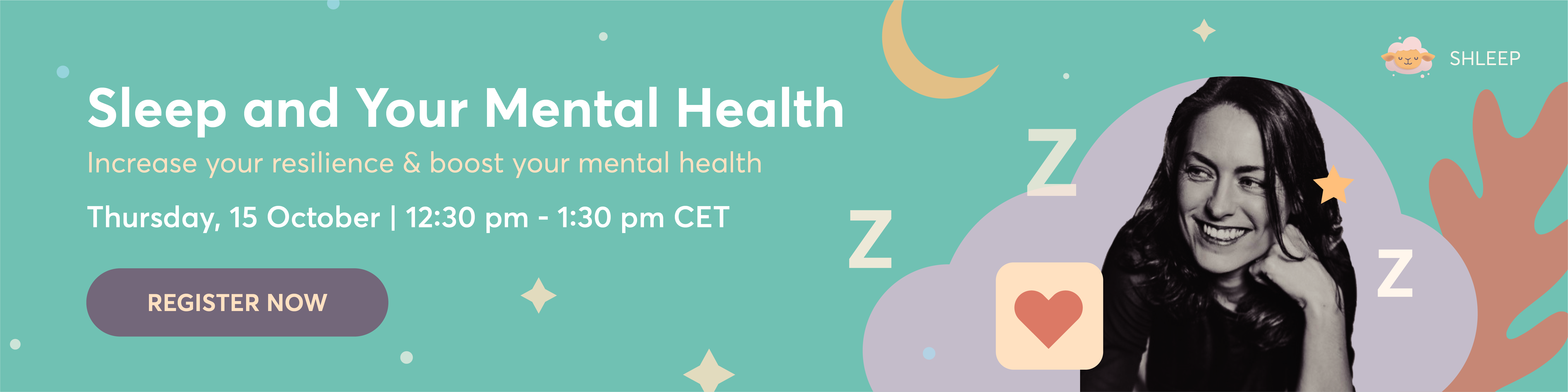 Shleep: Sleep and your mental health webinar