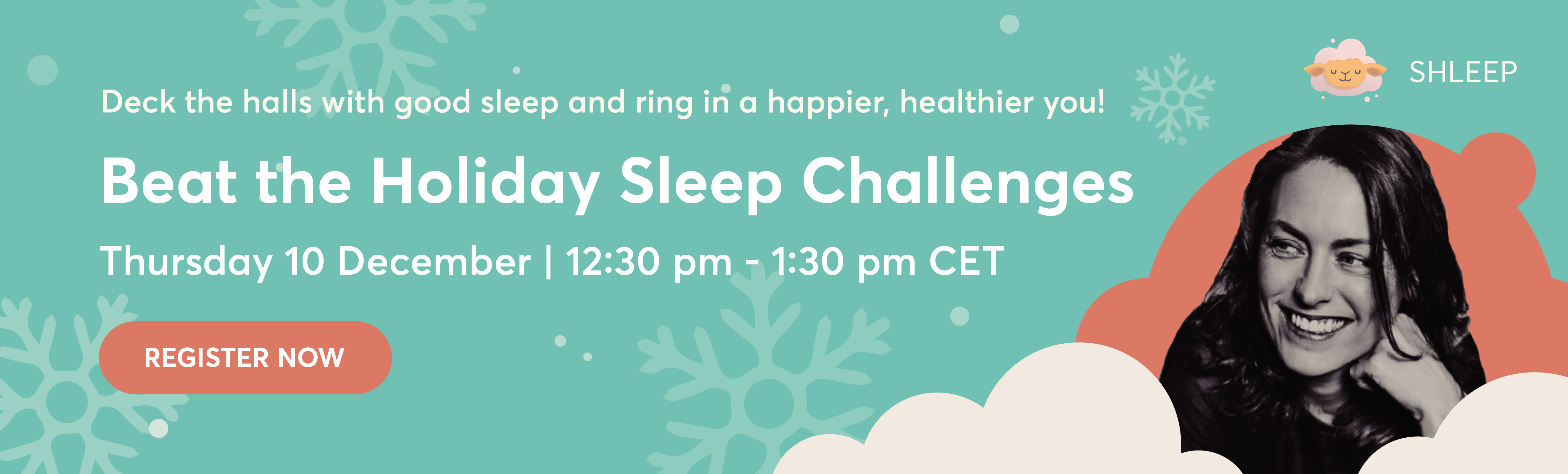 Register for Beat the Holiday Sleep Challenges