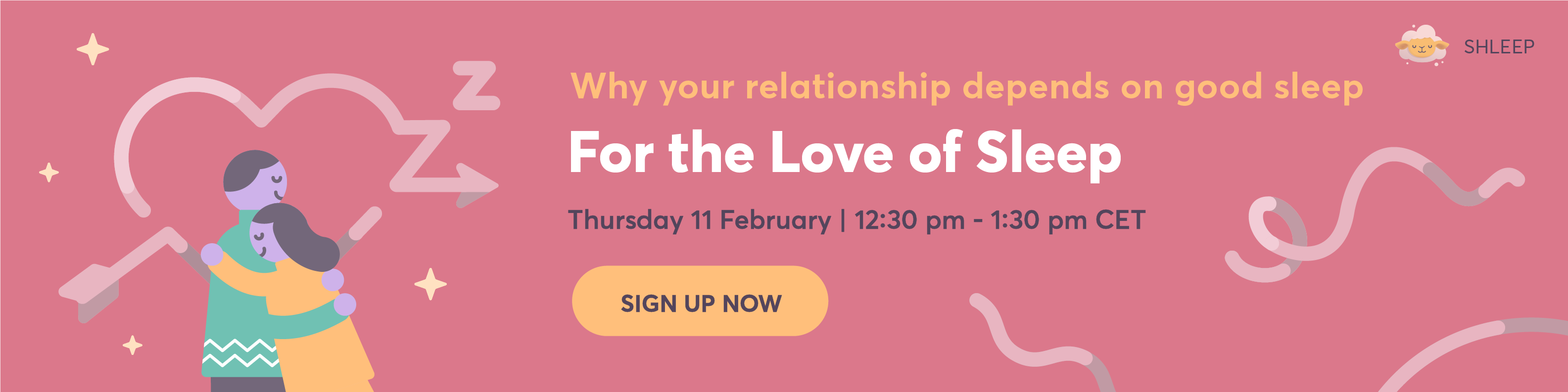 For the love of sleep webinar