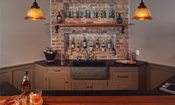 Basement Bar Area Design