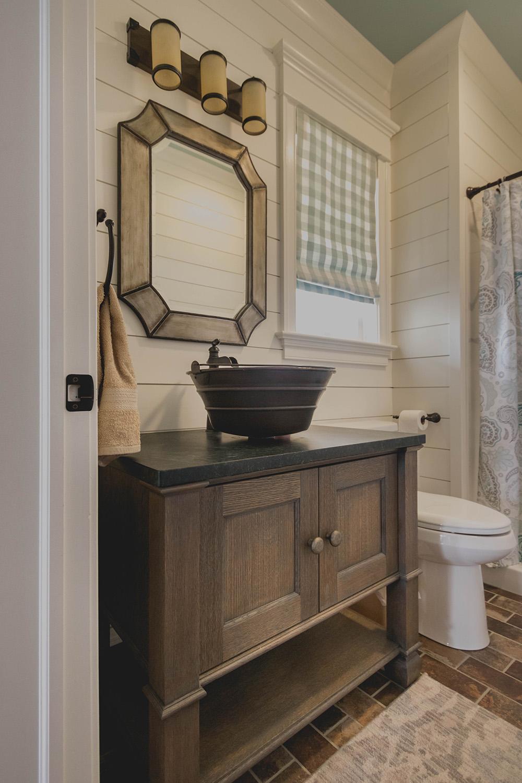 Farmhouse Style Guest Bath Remodel