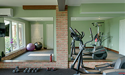Urban Style Home Fitness Room