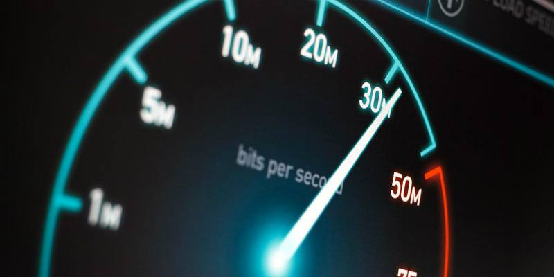 imagen ilustrativa de megabits por segundo, representando la velocidad de descarga de internet