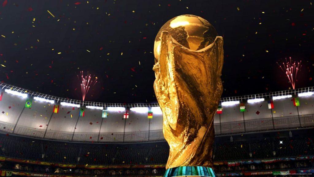 trofeo copa del mundo de fútbol