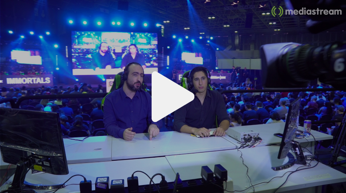 video mediastream geek game rio janeiro