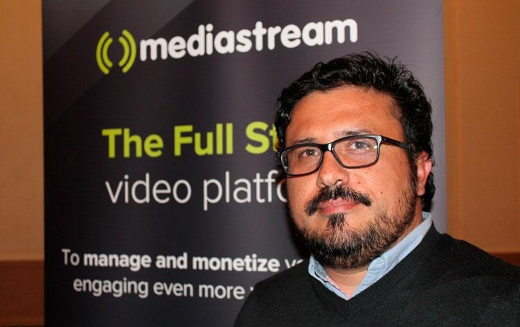 Luis Ahumada, CEO Mediastream
