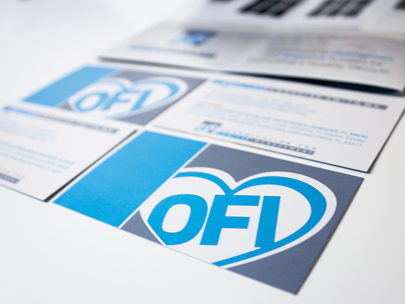 Portfolio Image Organization for Family Improvement Brochure Business Cards by First Impressions Creative Services