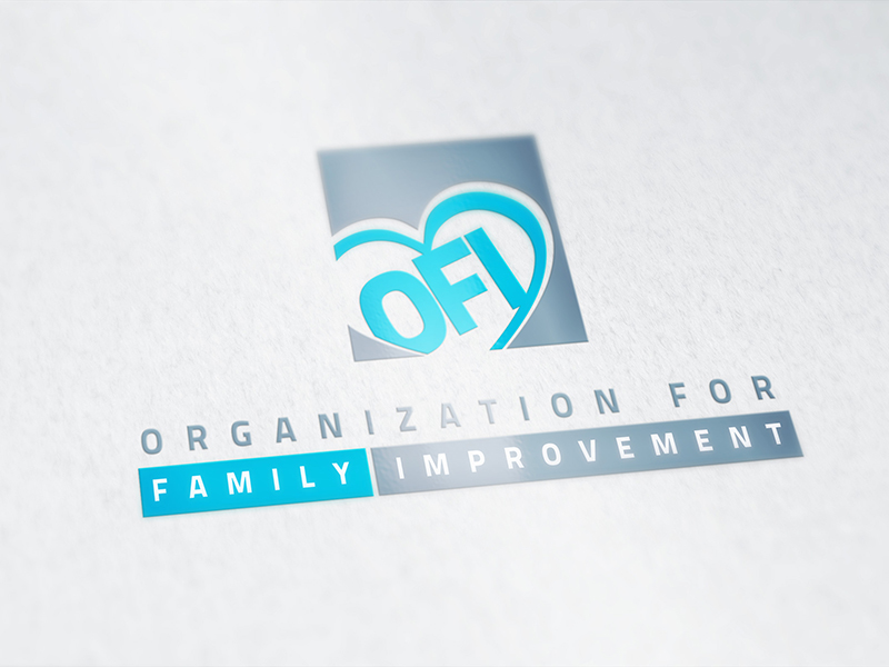 Portfolio Image Organization for Family Improvement Logo by First Impressions Creative Services