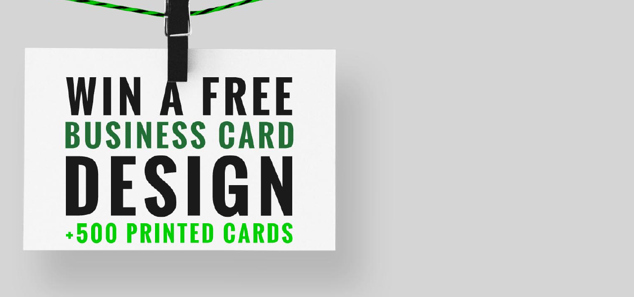 Win A Free Business Card Design