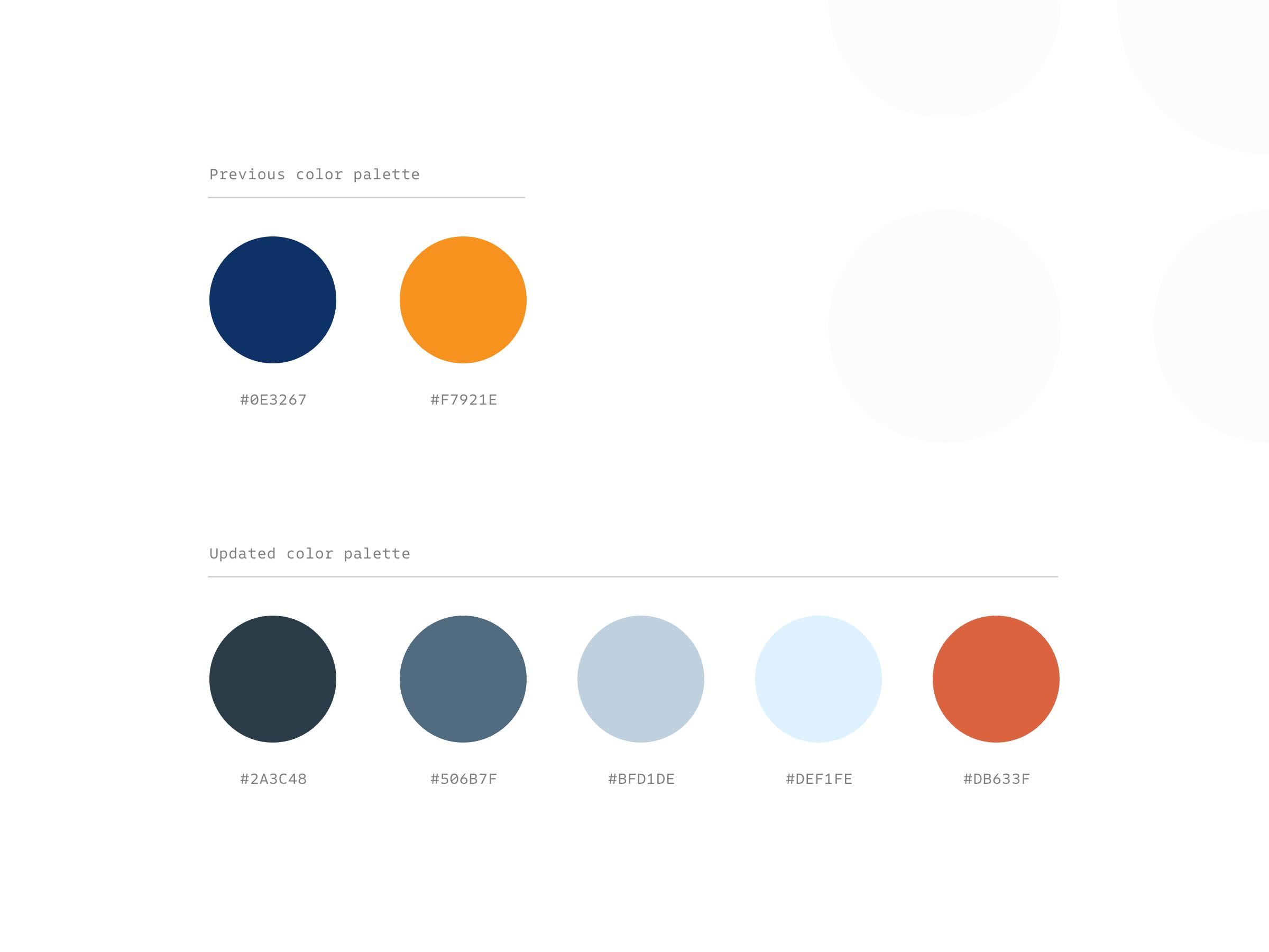 ProductionHUB color palette