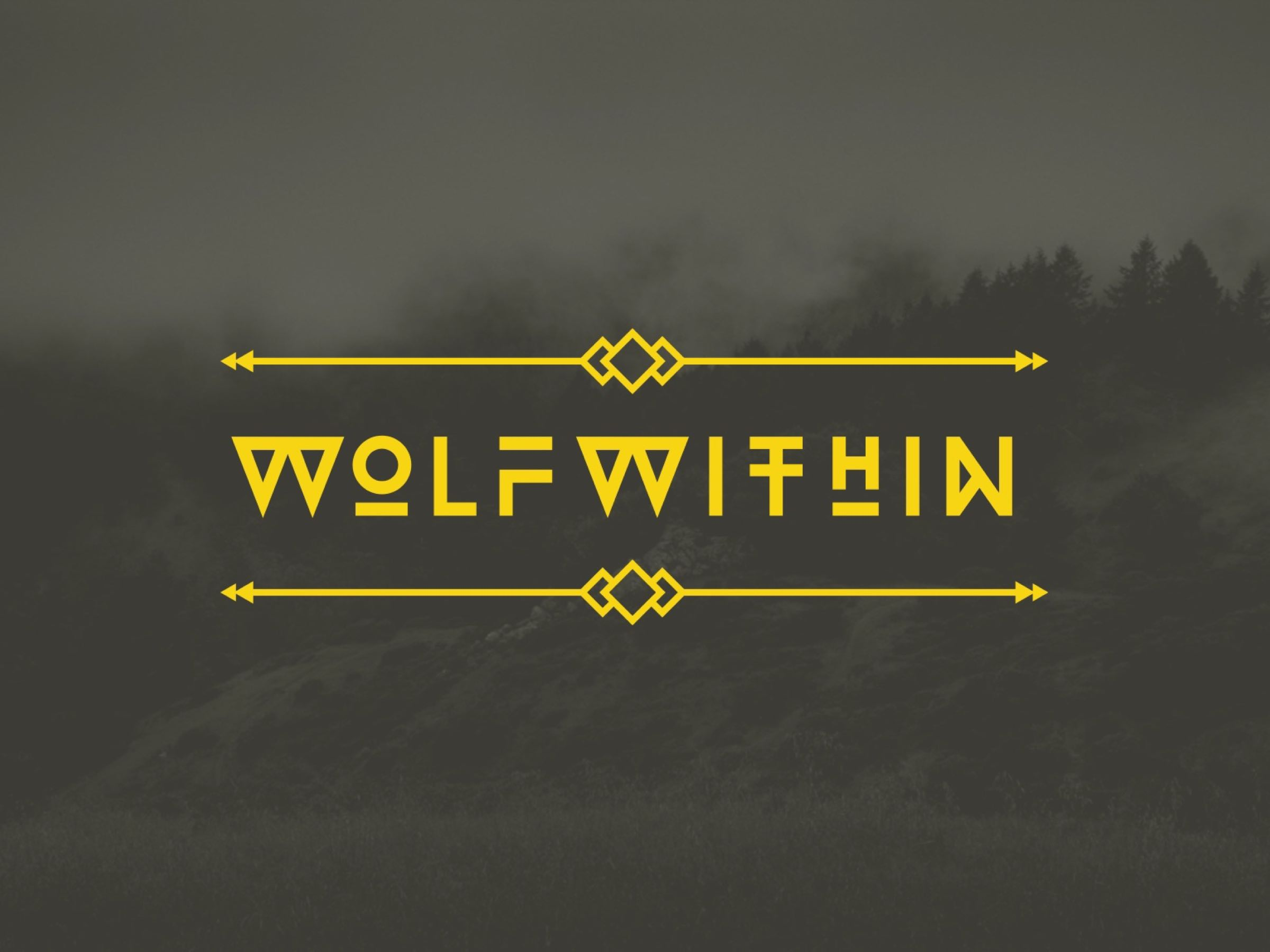 Wolfwithin wordmark