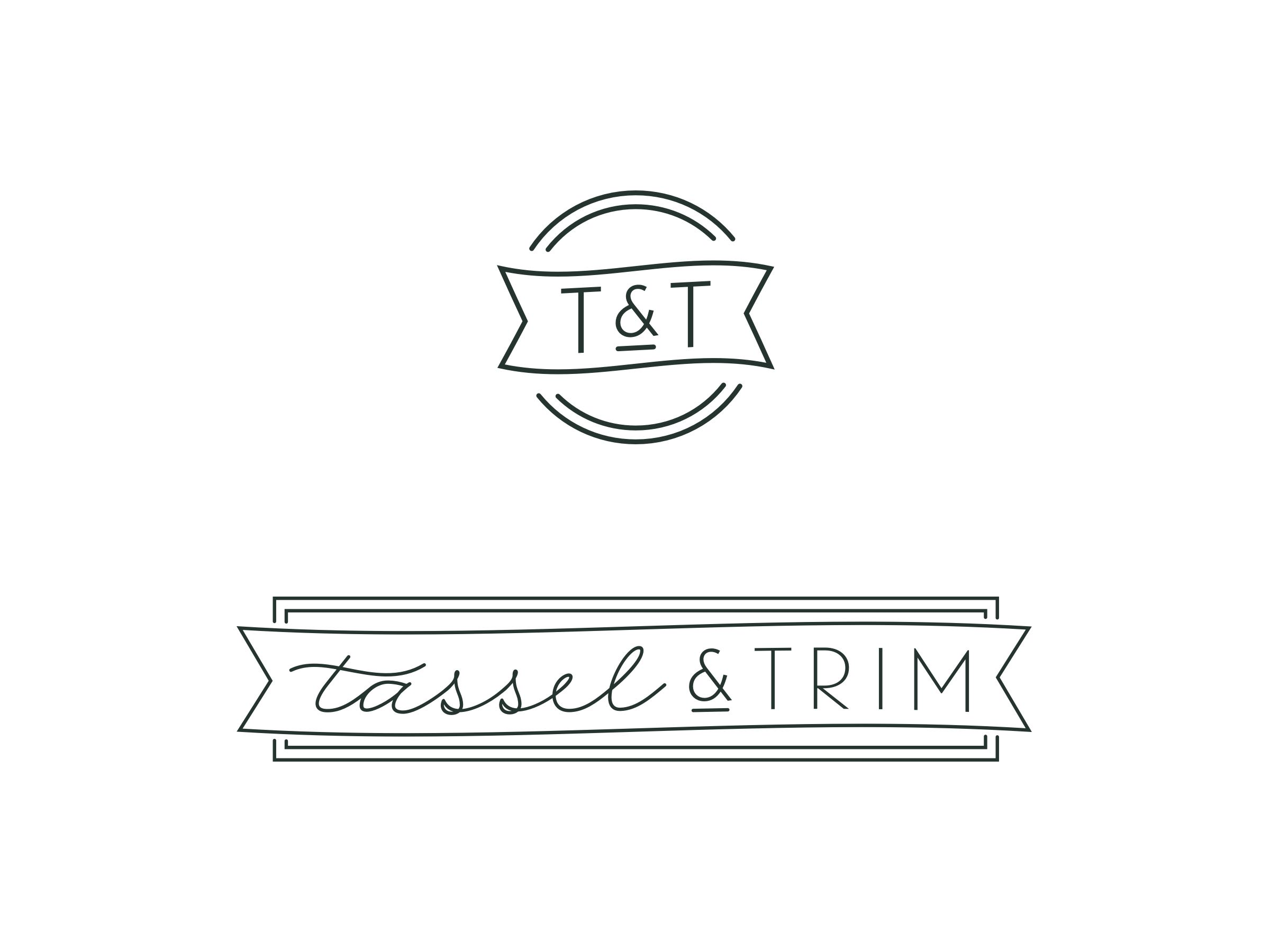 Tassel & Trim visual identity