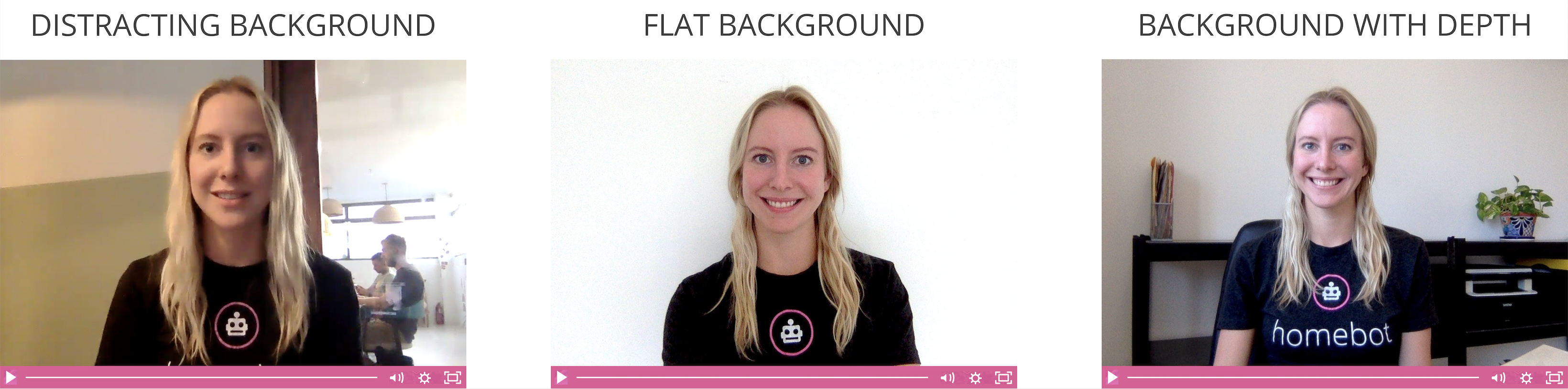 video marketing tips - updating your background