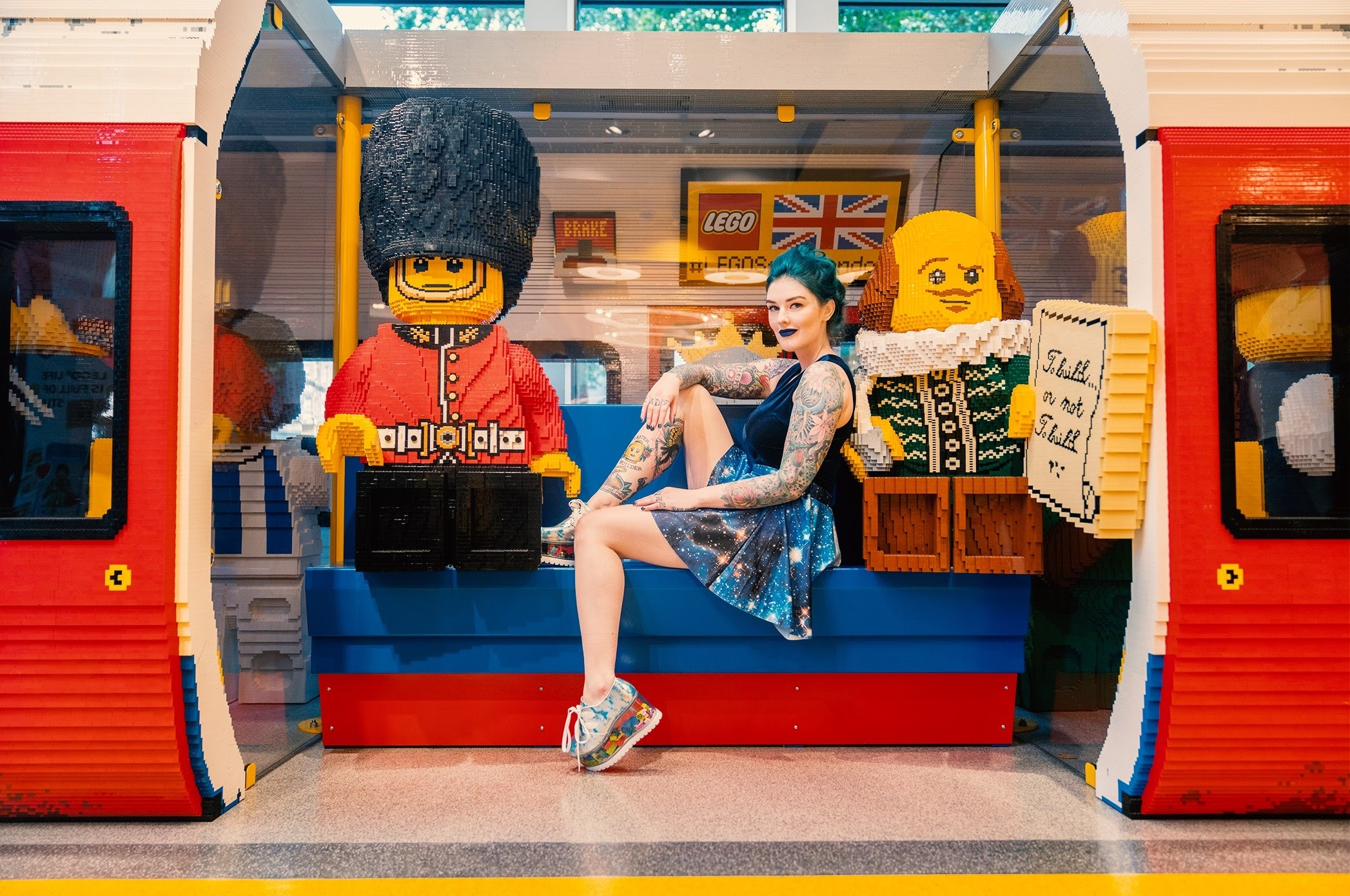 AmieDD LEGO Store London About
