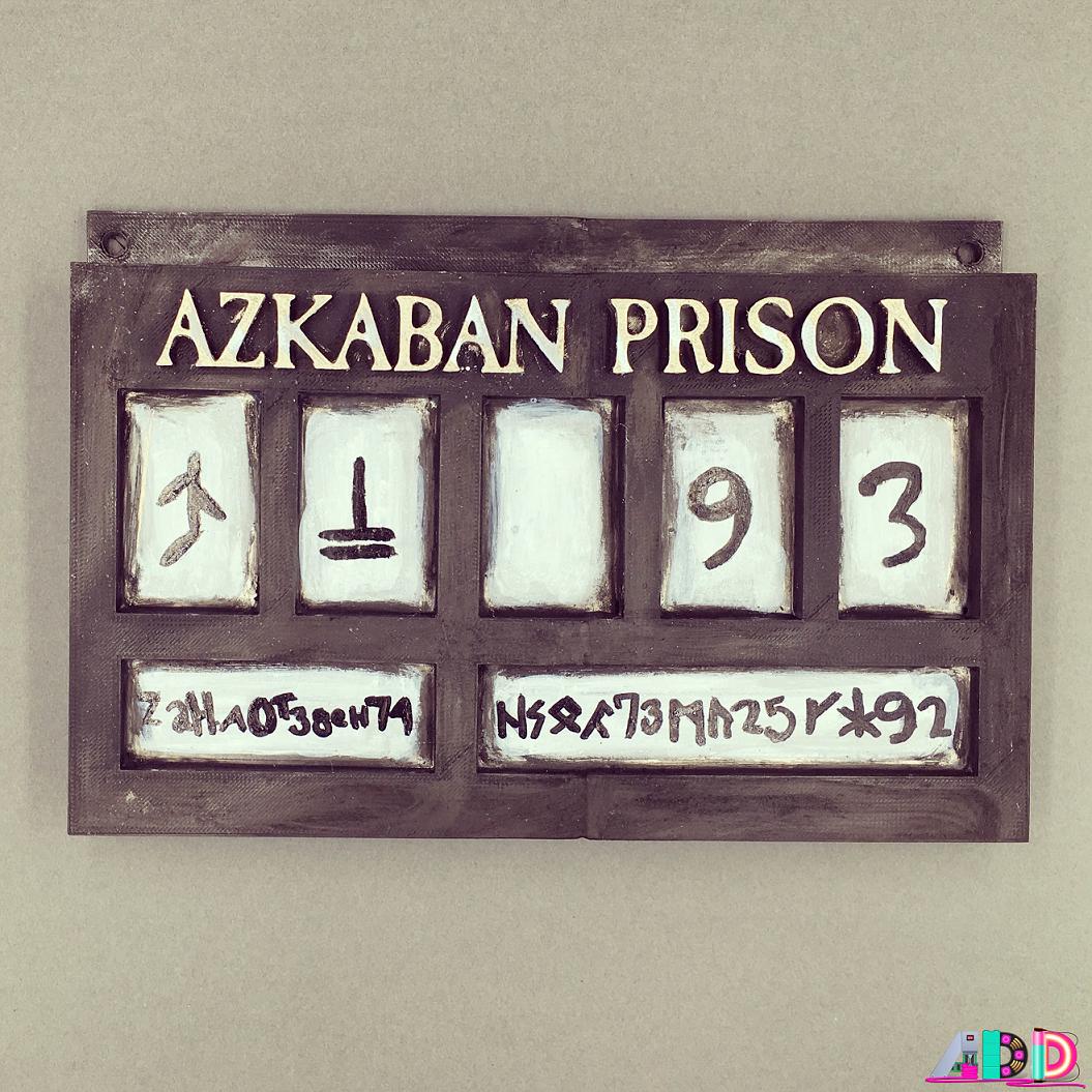 Azkaban Prison AmieDD 3D Print
