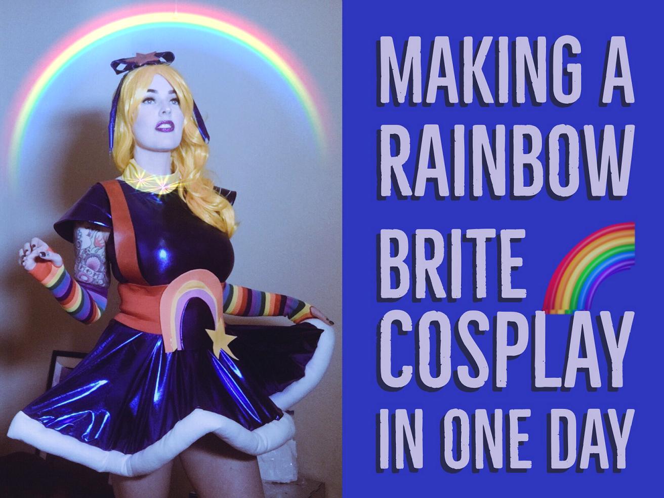 Rainbow Brite Cosplay