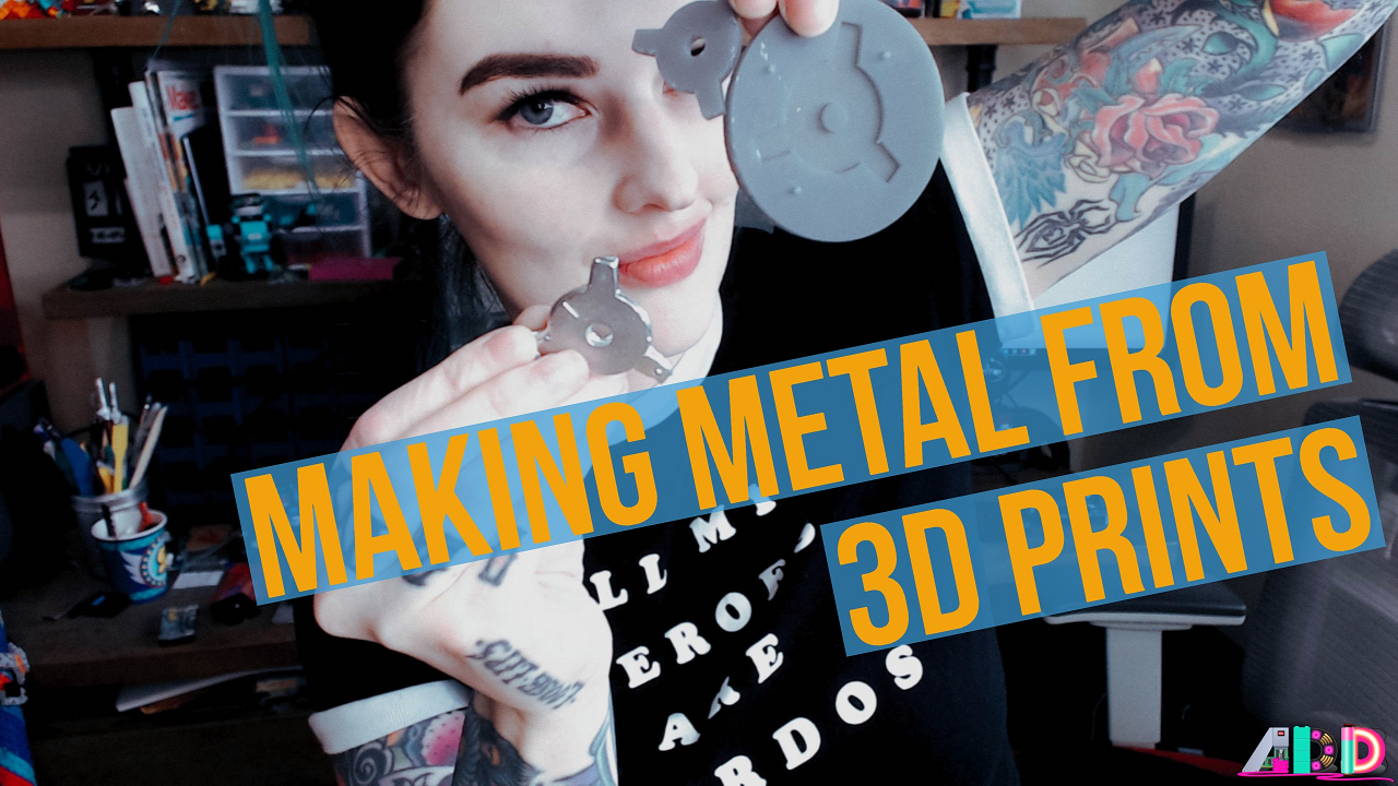 Making metal from 3D Prints Form2