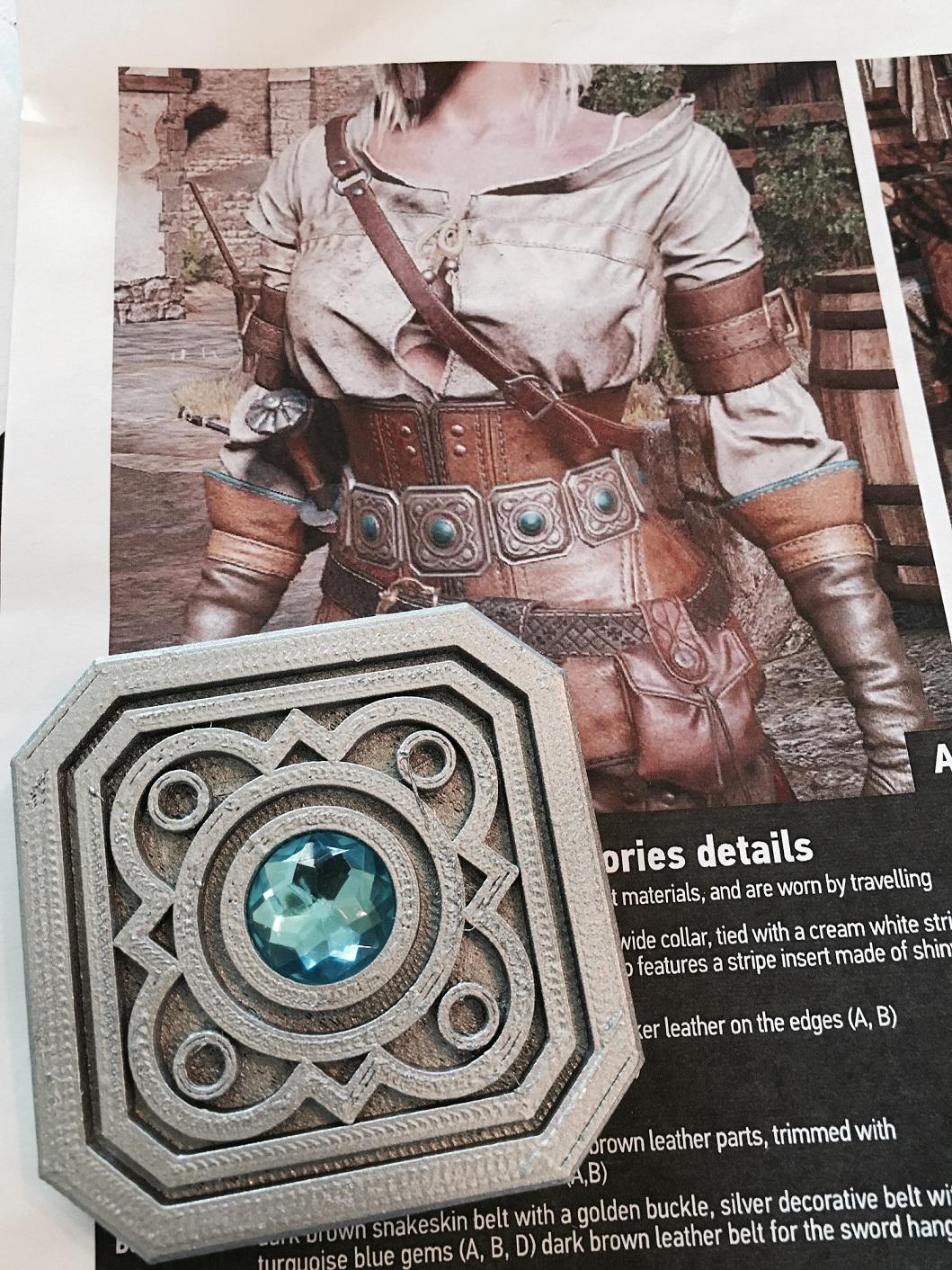 Ciri belt 3D Print