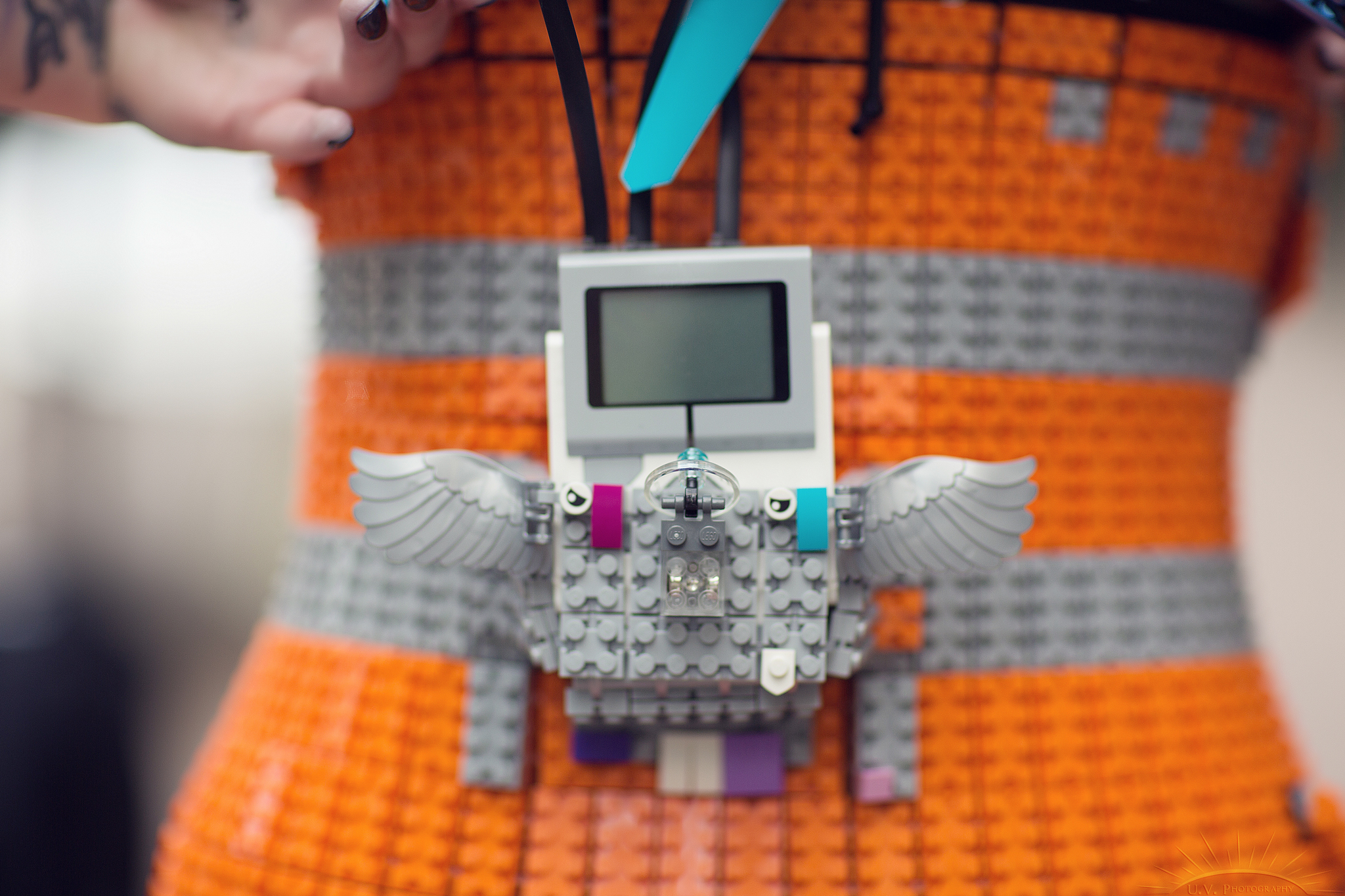 LEGO Mindstorms Cosplay