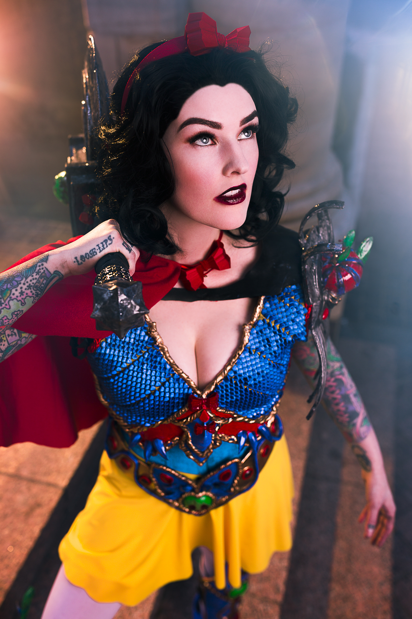 AmieDD Disney Battle Princess Snow White Dragon Con 3D Printed Armor